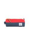 Herschel Settlement Pencil Case - Navy & Red