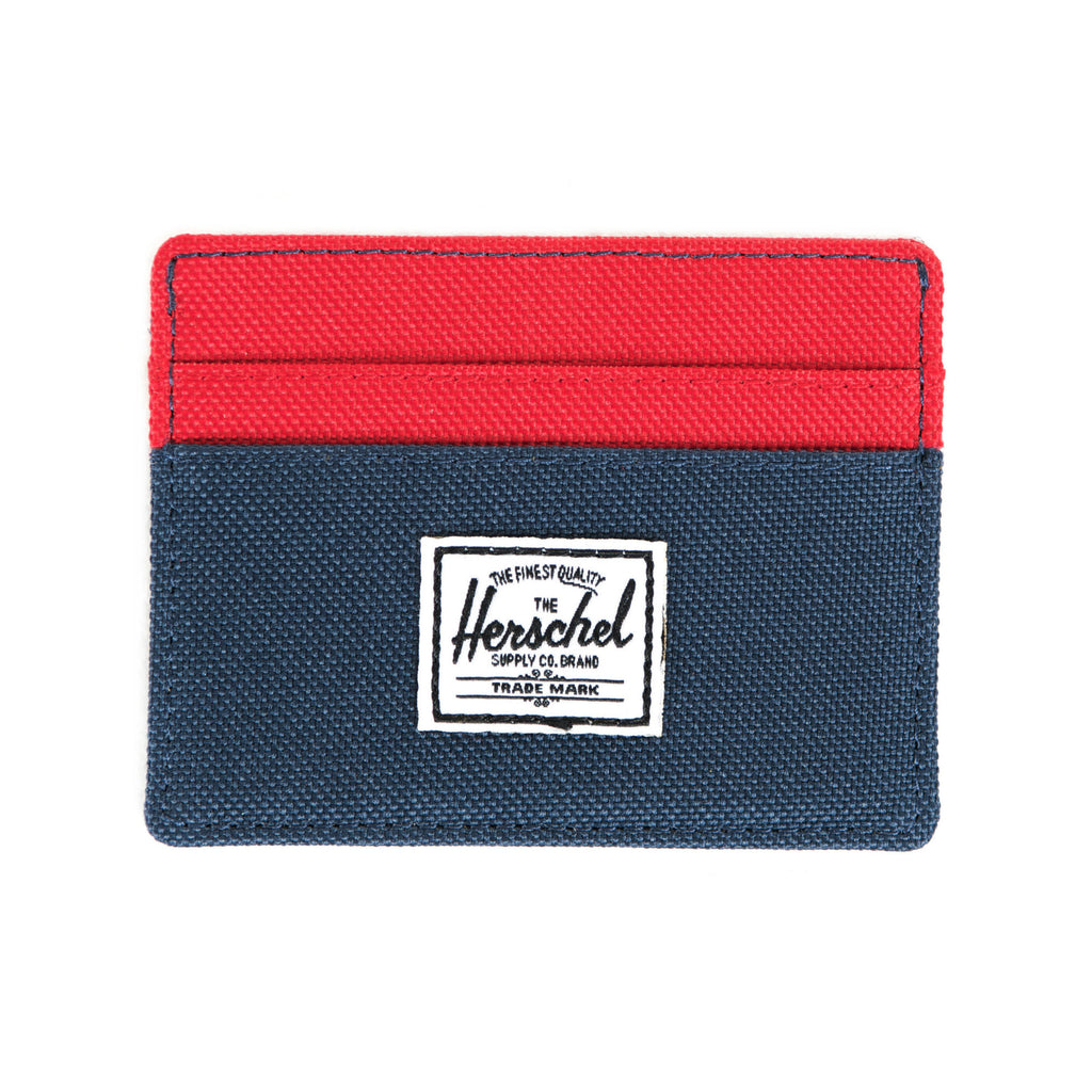 Herschel Supply Charlie Wallet - Navy & Red