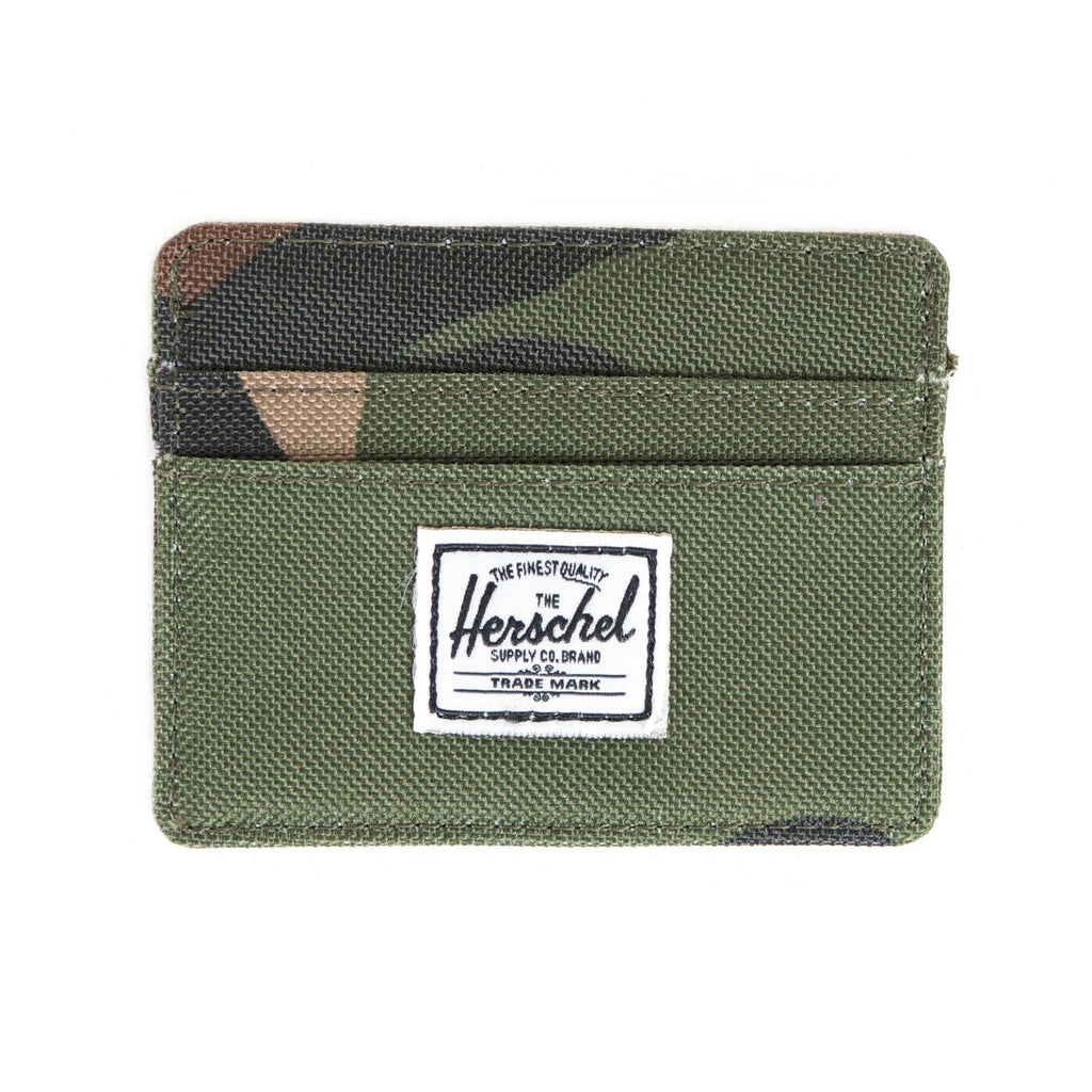 Herschel Supply Charlie Wallet - Woodland Camo