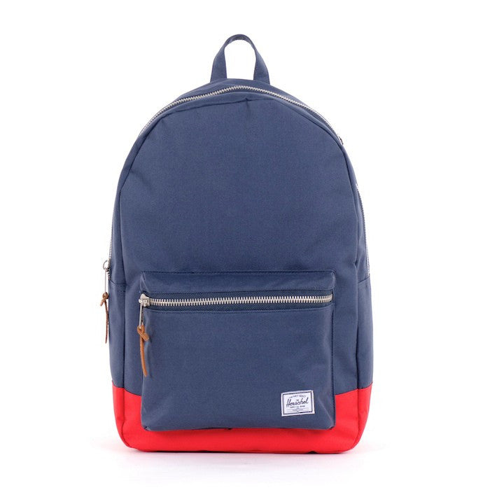 Herschel Supply Settlement Backpack - Navy & Red