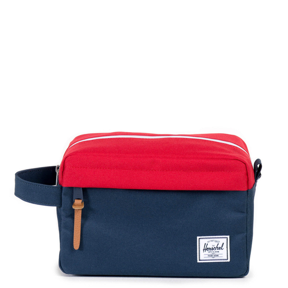 Herschel Supply Chapter Travel Kit Navy Red