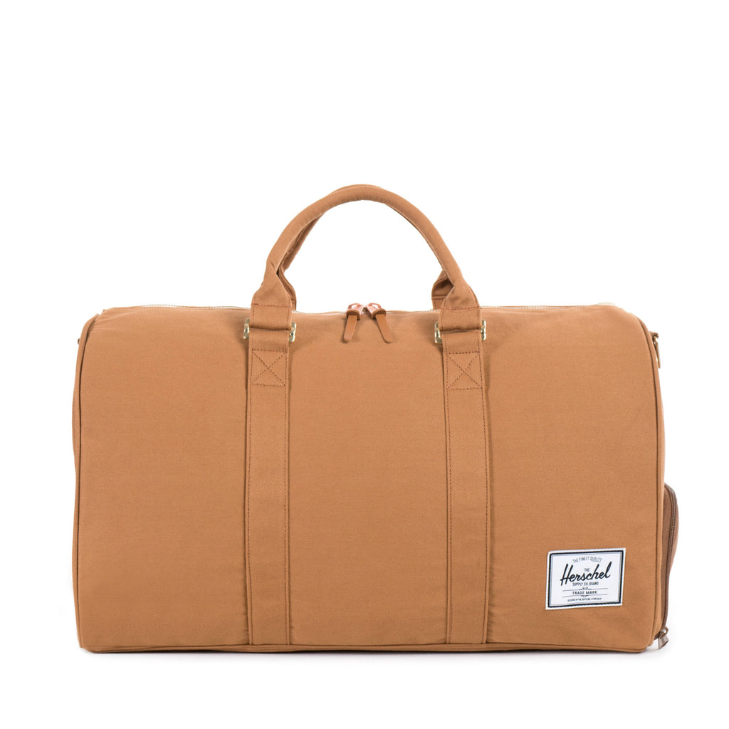 Herschel Supply Novel Canvas Duffel Bag - Caramel