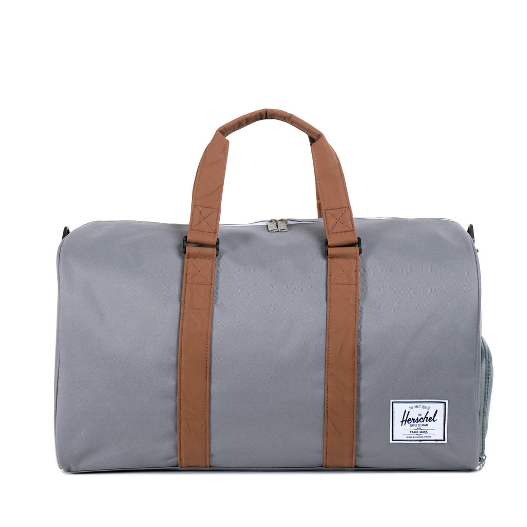 Herschel Supply Novel Duffel Bag - Grey & Tan