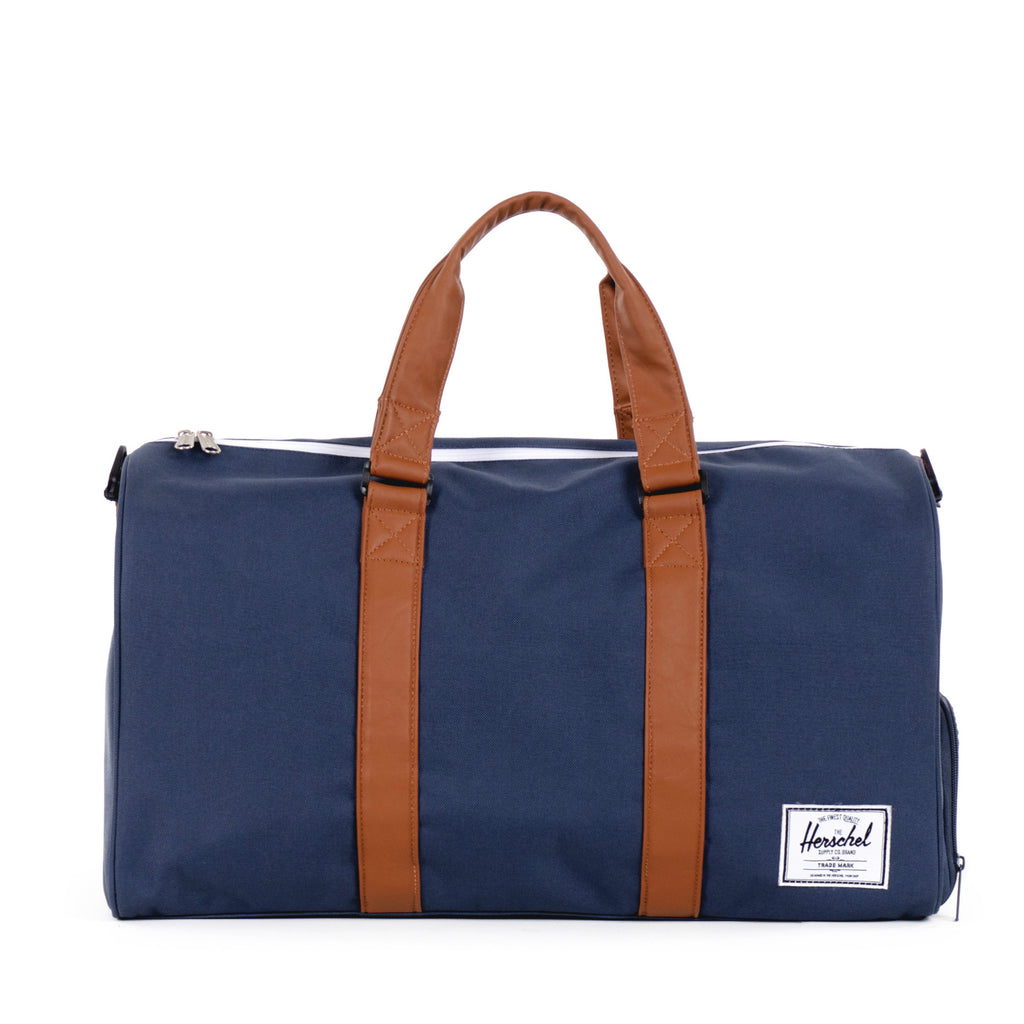 Herschel Supply Novel Duffel Bag - Navy & Tan