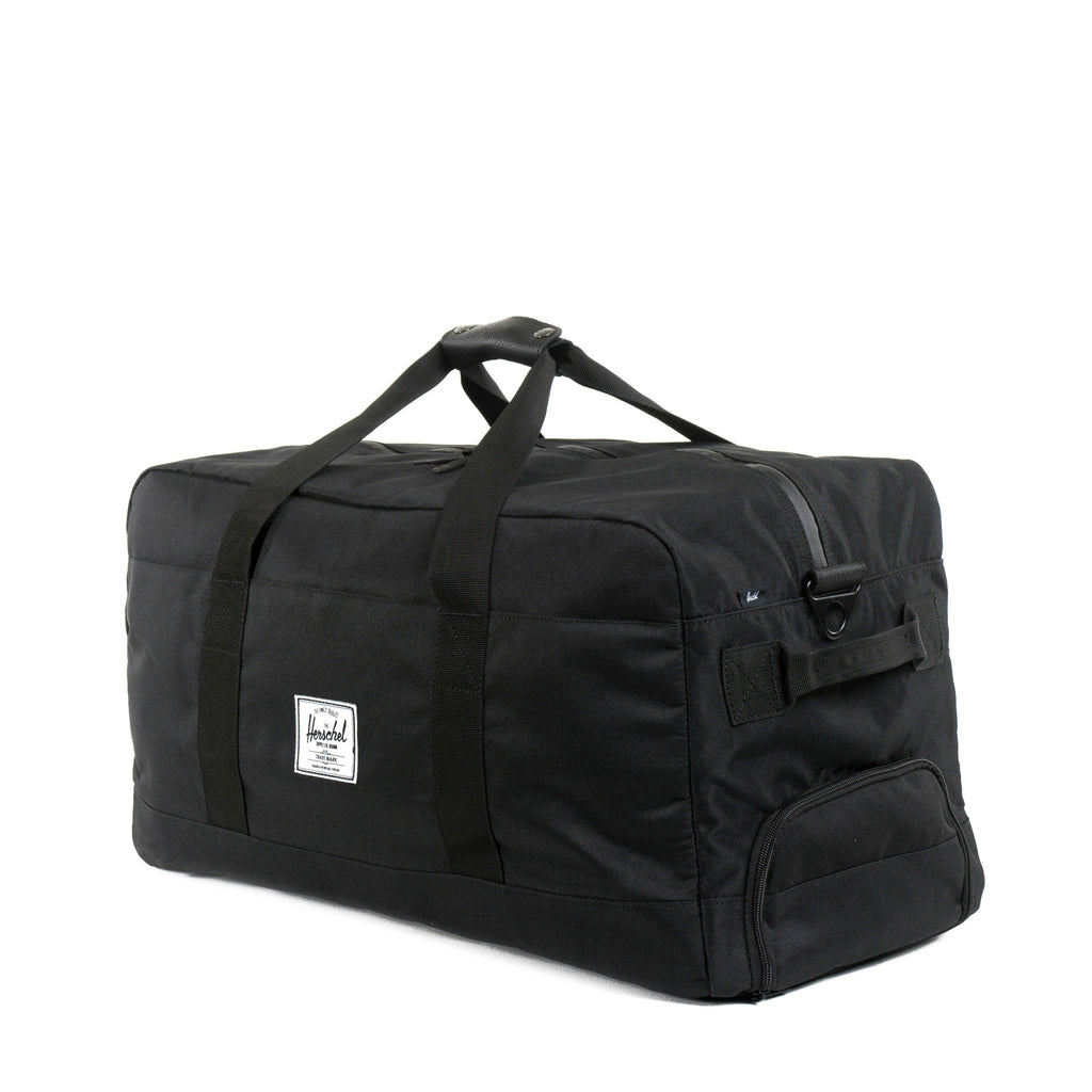 Herschel Supply Outfitter Travel Duffel Bag - Black Side