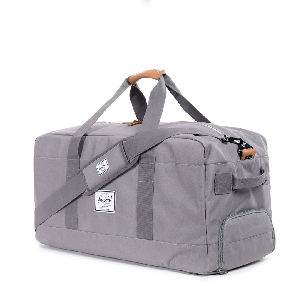Herschel Supply Outfitter Travel Duffel Bag - Grey Side
