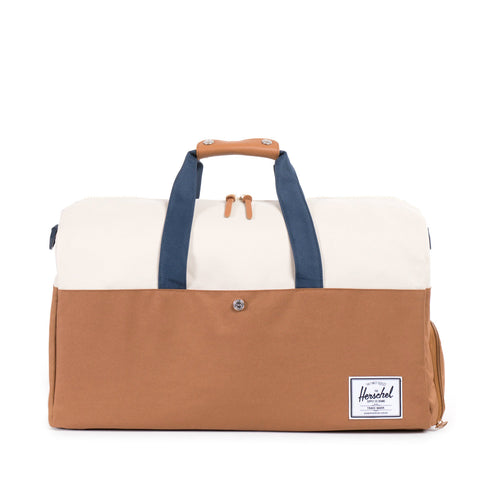 Herschel Supply Lonsdale Duffel Bag - Caramel, Natural, Navy