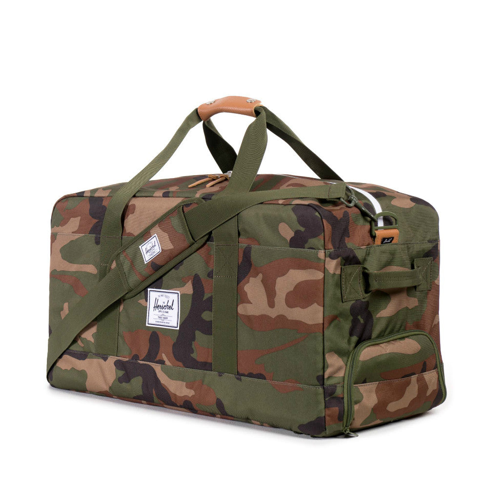 Herschel Supply Outfitter Travel Duffel Bag Woodland Camo