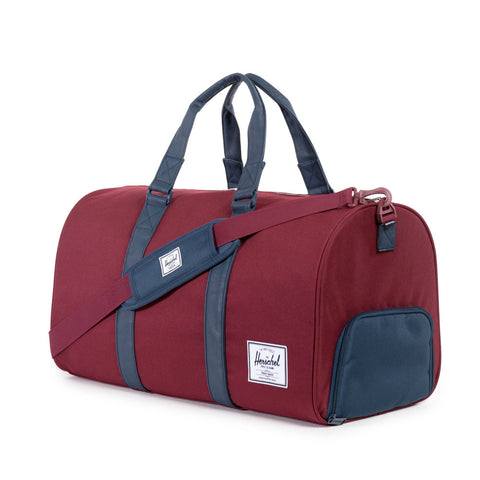 Herschel Supply Novel Duffel Bag - Wine & Navy