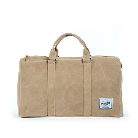 Herschel Supply Novel Canvas Duffel Bag - Khaki