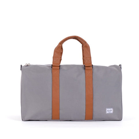 Herschel Supply Ravine Duffel Bag - Grey & Tan