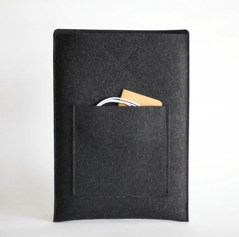 Organic Wool Felt Apple MacBook Air 13 inch Oxford Sleeve Case