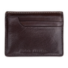 Status Anxiety Isaac Wallet - Chocolate