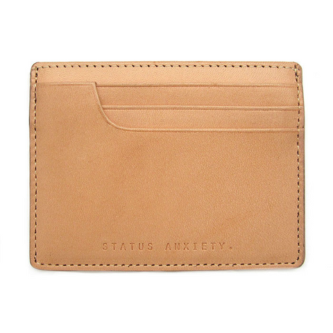Status Anxiety Isaac Wallet - Tan