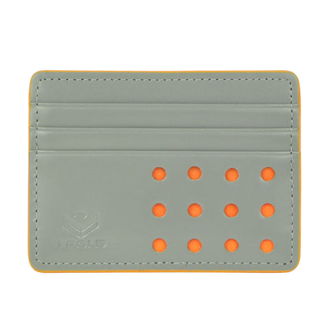 V-Twelve Flat Carrier Wallet - Gray