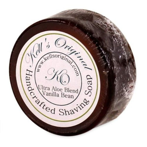 Kell's Original Shaving Soap Ultra Aloe Blend Vanilla Bean