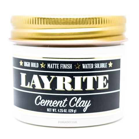 Layrite Deluxe Pomade Cement - 4 oz