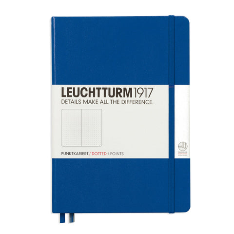 Leuchtturm1917 Notebook - Blue Dotted
