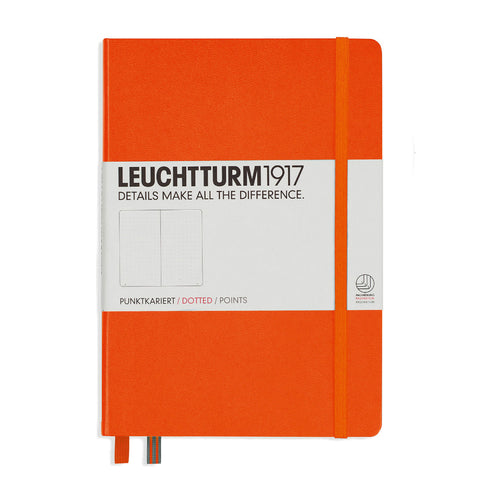 Leuchtturm1917 Notebook - Orange Dotted