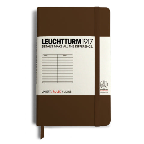 Leuchtturm1917 Ruled Notebook - Tobacco