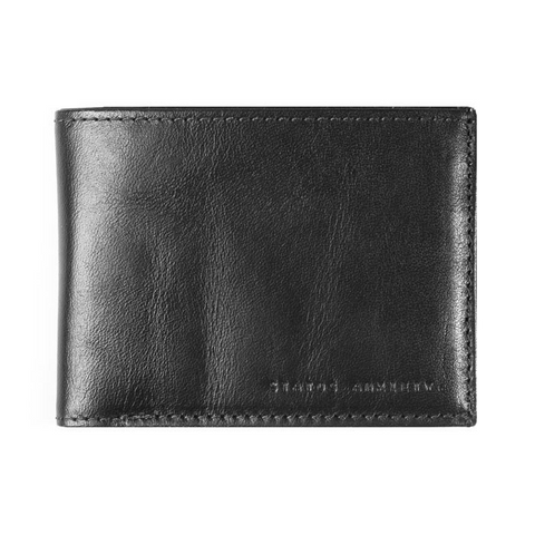 Status Anxiety Noah Wallet - Black