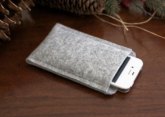 Organic Wool iPhone 4/4s Oxford Sleeve