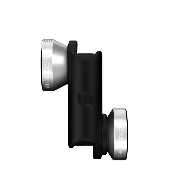 Olloclip 4-in-1 Photo Lens - Black Silver
