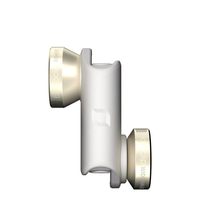 Olloclip 4-in-1 Photo Lens - White & Gold