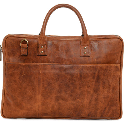 Ona Leather Kingston Laptop Bag - Antique Cognac