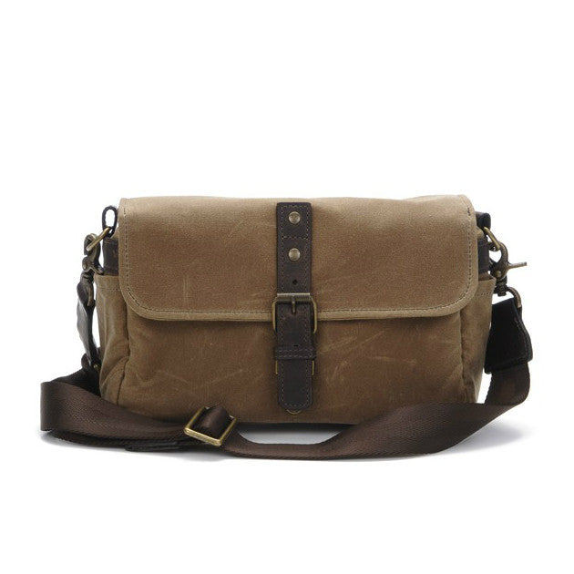 Ona Bowery Camera Bag & Insert - Field Tan