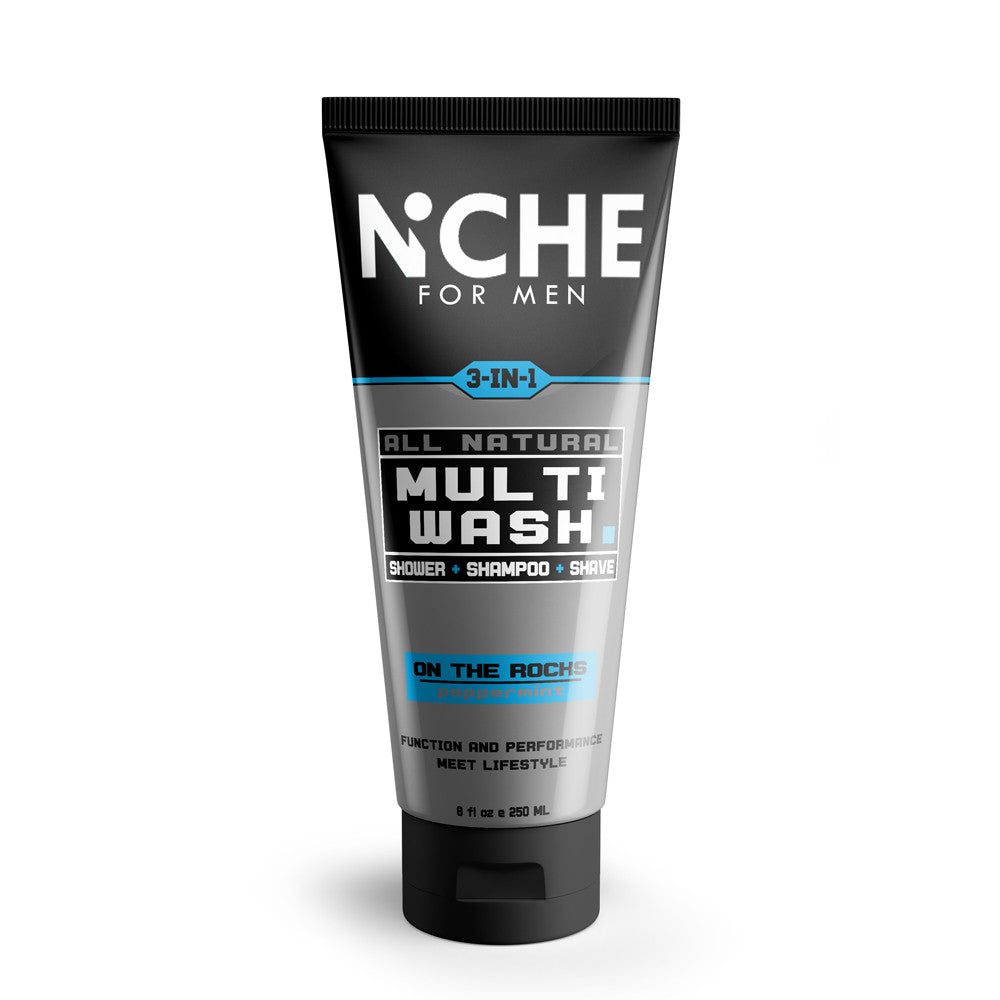 Niche for Men 3-in-1 Natural Multi-Wash - On the Rocks