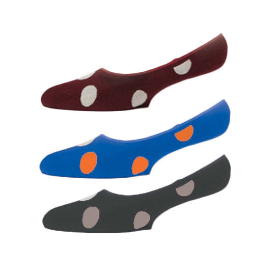 No See Ums Socks - 3-pack - Dots