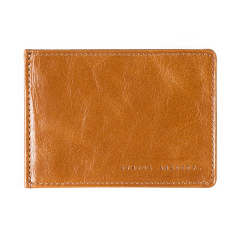 Status Anxiety Perez Thin Wallet - Tan