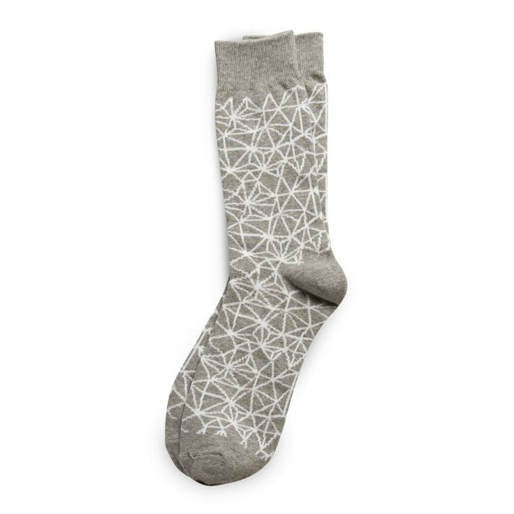 Richer Poorer Socks Automahn Grey Gray