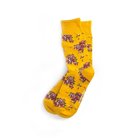 Richer Poorer - Savant Socks - Yellow