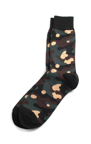 Richer Poorer - Trooper Green Socks