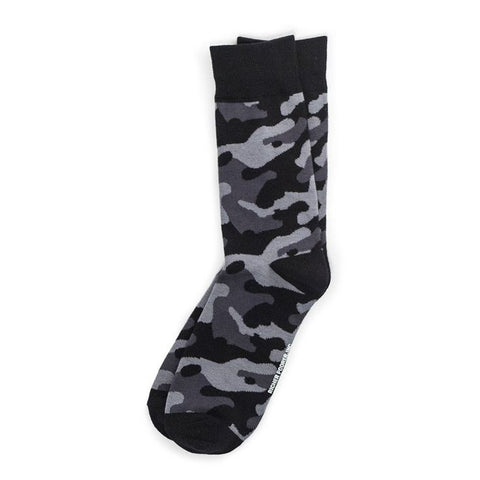 Richer Poorer - Trooper Black Socks