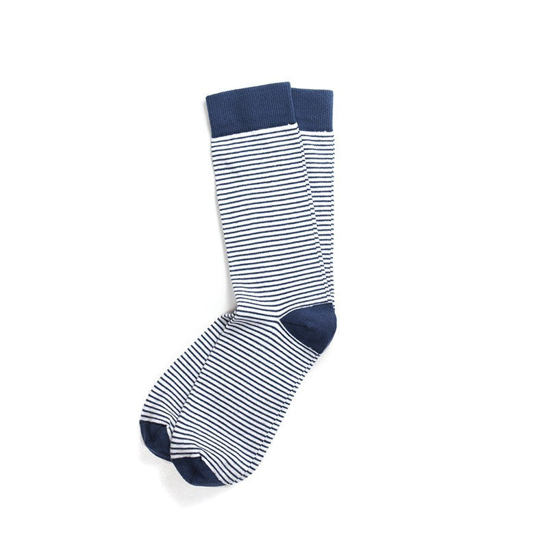 Union Thread - Dignitary Blue Socks