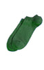 Richer Poorer - Rookie Solid Green Low Show Socks - 2 pairs