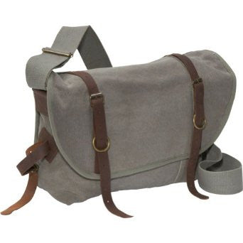 Rothco Vintage Canvas Explorer Shoulder Bag - Olive