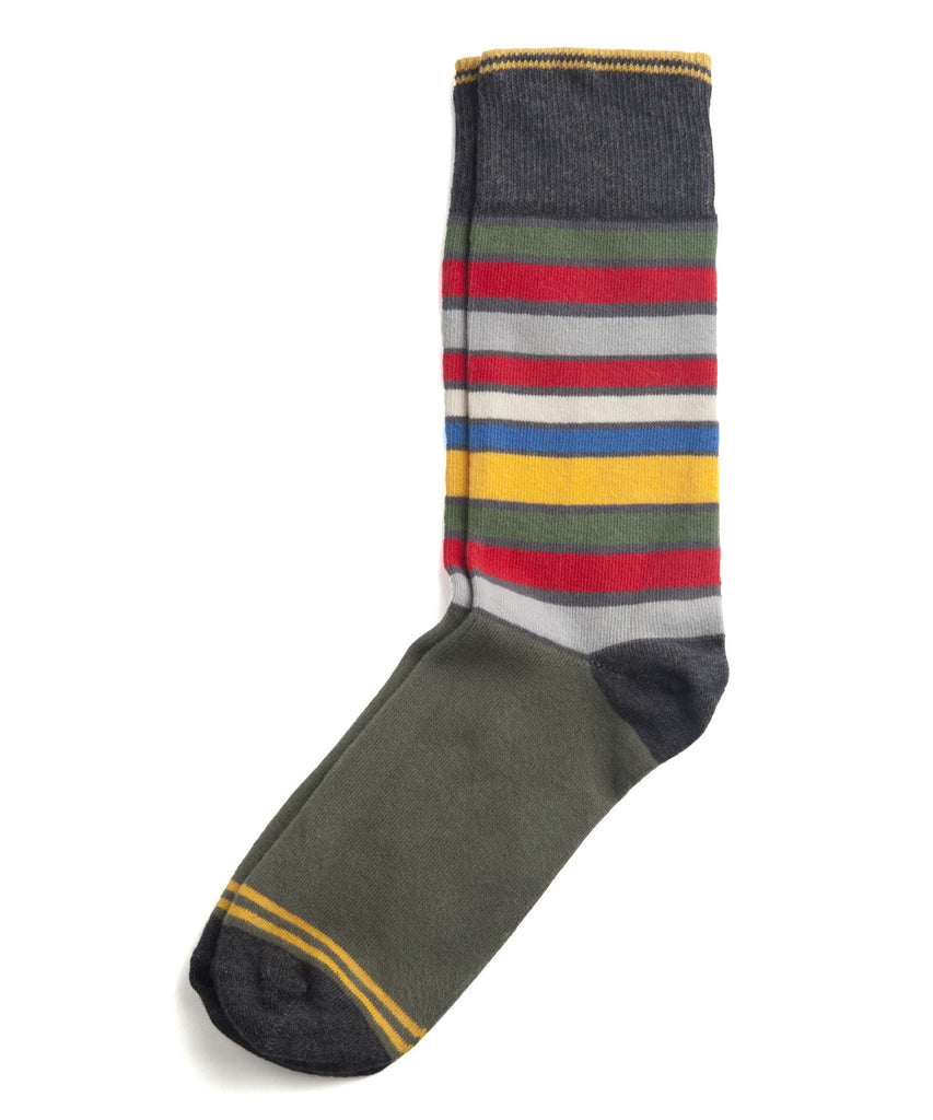 San Francisco Essentials Stripe Crew Socks