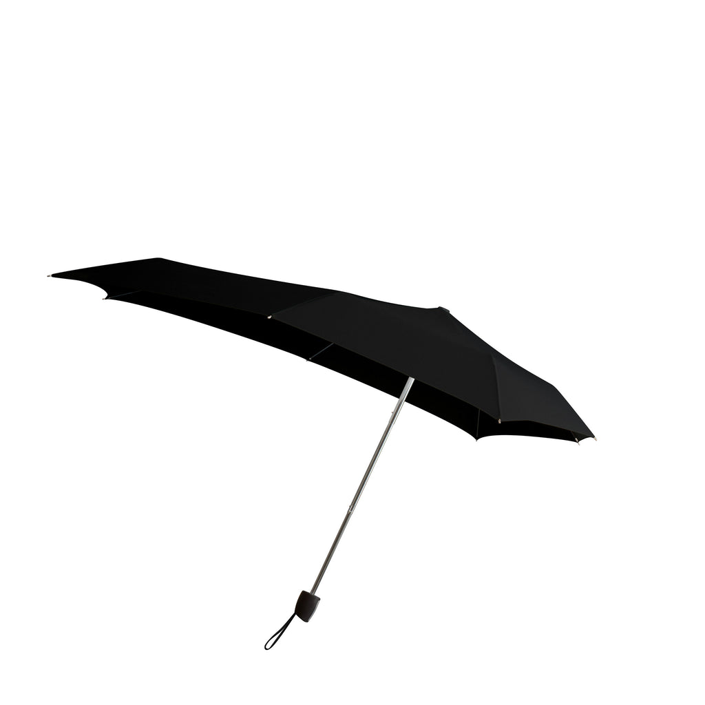 Senz Smart S Stormproof Folding Umbrella - Black Out