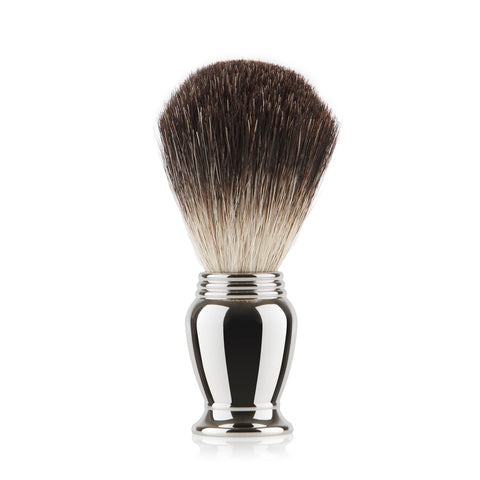 Pure Badger Shaving Brush  - Chrome Handle