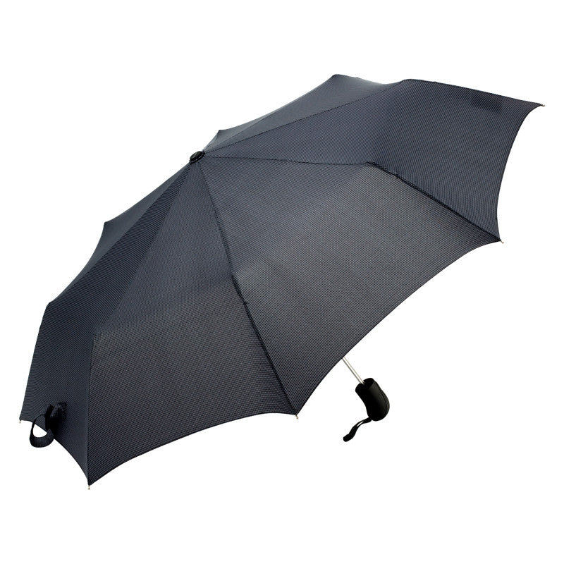 ShedRain Rain Essentials Auto Open Umbrella - Metro Houndstooth
