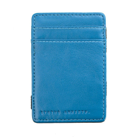 Status Anxiety Flip Magic Wallet - Blue