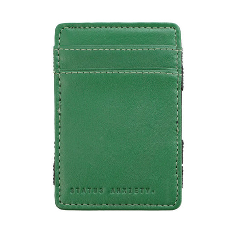 Status Anxiety Flip Magic Wallet - Green