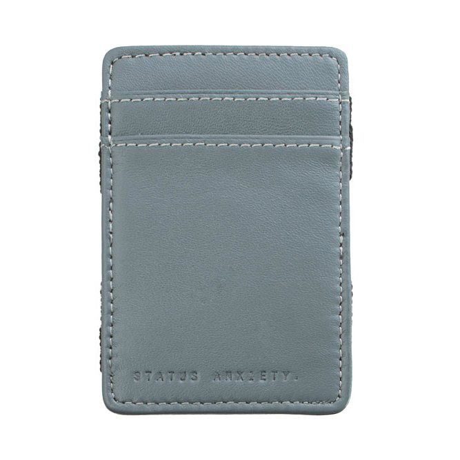 Status Anxiety Flip Magic Wallet - Grey