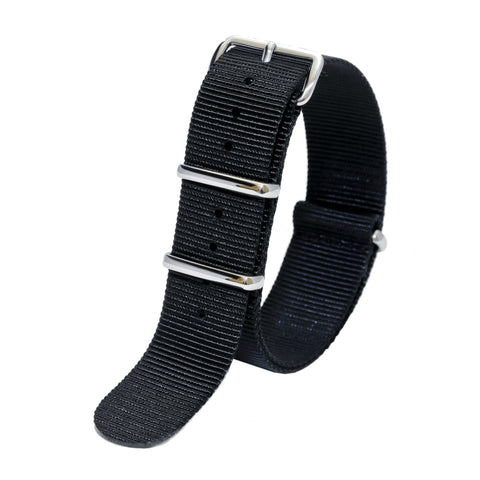 Sutter & Stockton - Military Watch Strap - Black