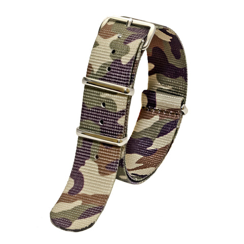 Sutter & Stockton - Military Watch Strap - Desert Camo