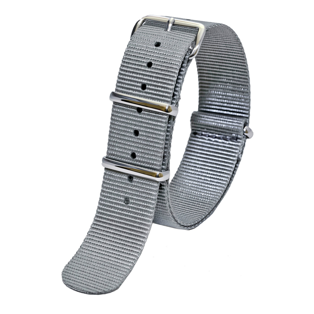 nato watch strap grey sutter & stockton